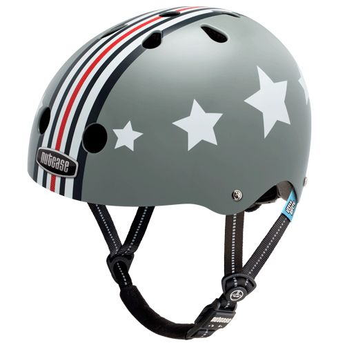 Nutcase Helmet - Little Nutty Silver Fly Generation 3. How to protect your little nut and look super cool #EntropyWishList #PinToWin