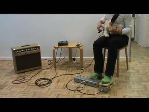 GuitarExtended - Real-time guitar effects on Raspberry Pi with Pure Data and Arduino