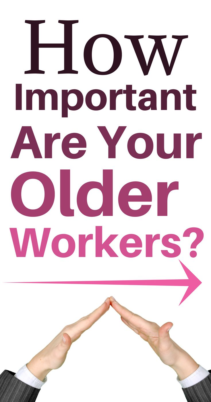 How important are your older workers worker business