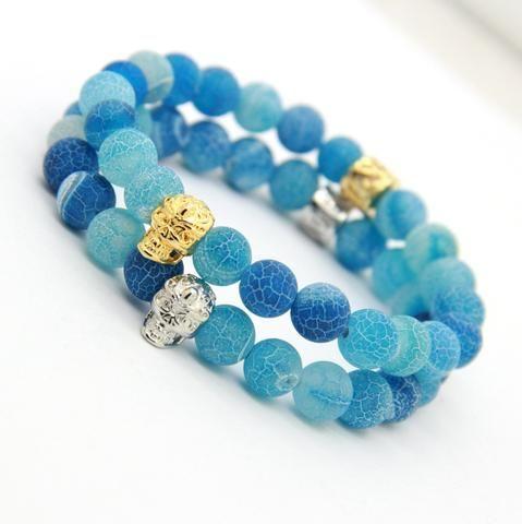 Fashion Skull Bracelet (2 colors)