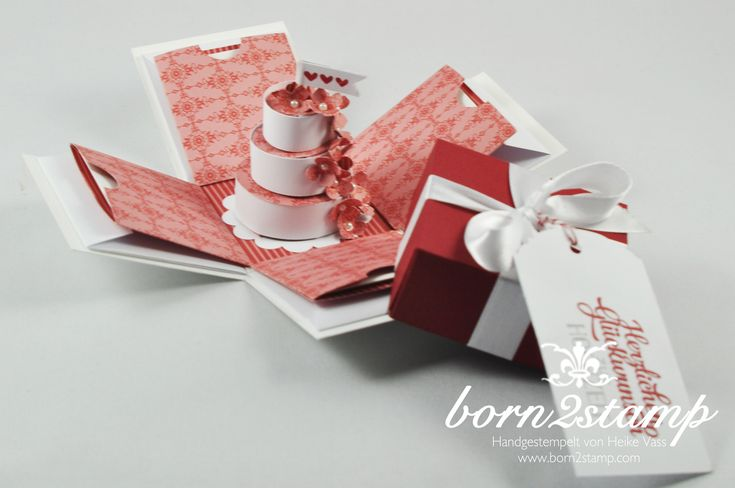STAMPIN' UP! born2stamp Explosionsbox - Grusselemente