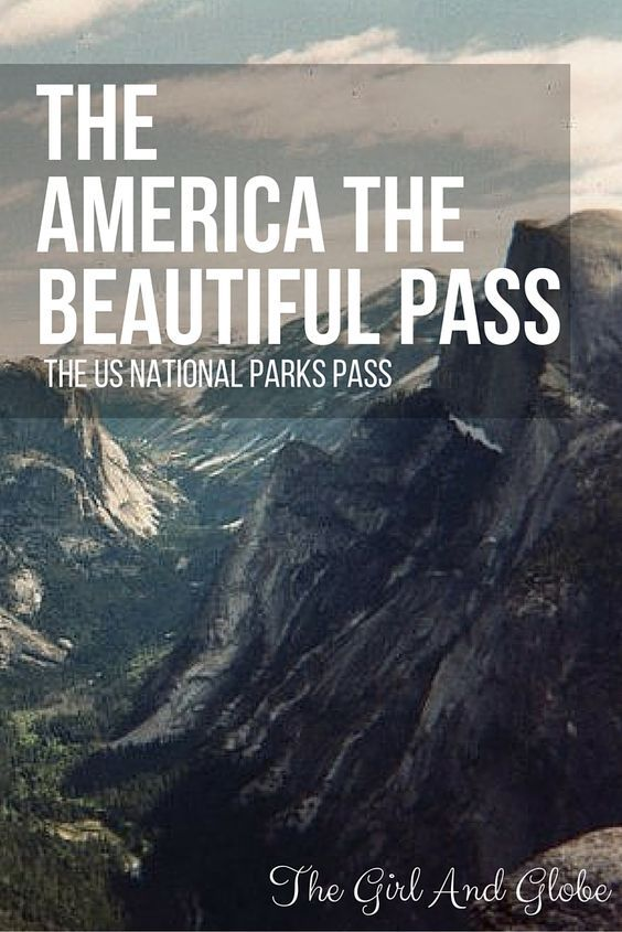 The America the Beautiful Pass is a great way to see many parks in the US National Parks system. It gives you free admission for up to 4 adults per park entrance for an annual fee of $80. Read here for more information about the pass. #nationalparks #nps100