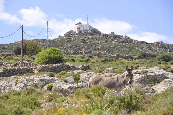 patmos greece mountain of eliah / elijah