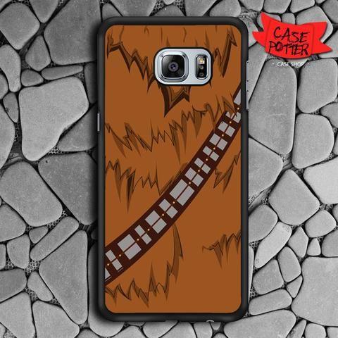 Brown Body Chewbacca Star Wars Samsung Galaxy S6 Edge Plus Black Case