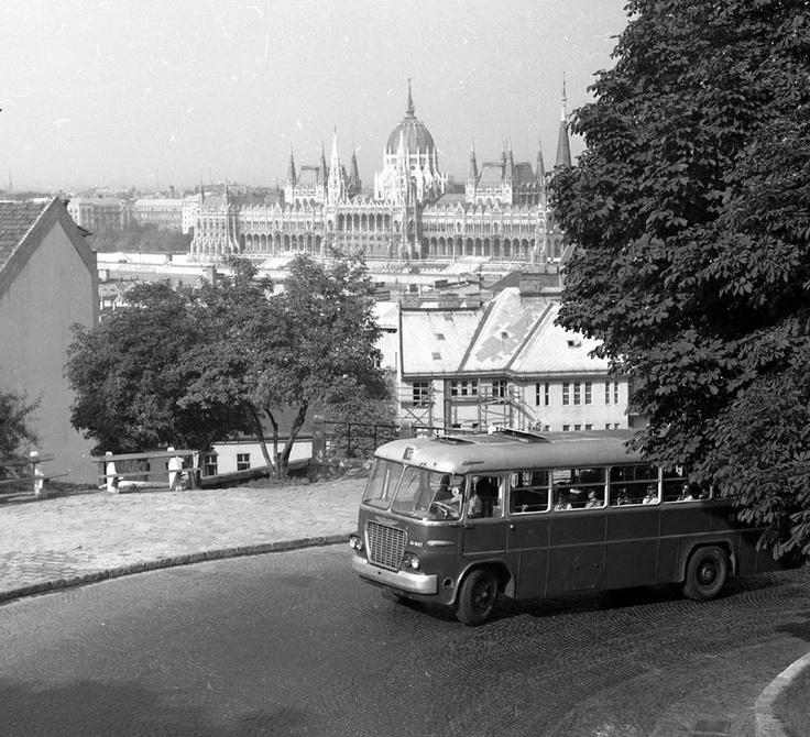 16-os busz megy fel a Budai várba