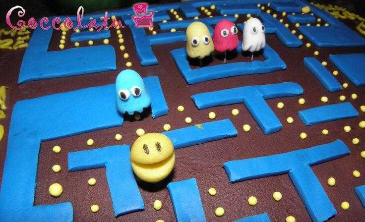 Pac Man Cake!!!