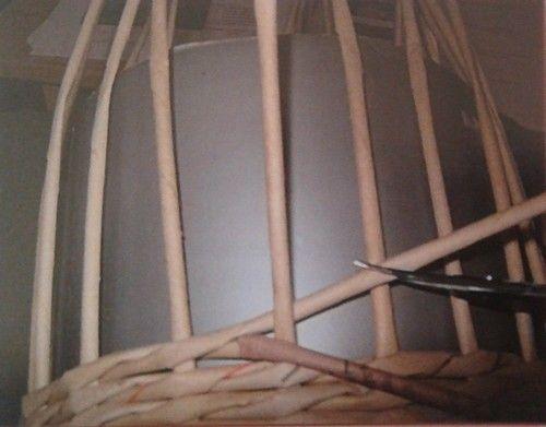 Opletek třemi ruličkami :: Pletení z papíru Hanča Čápule