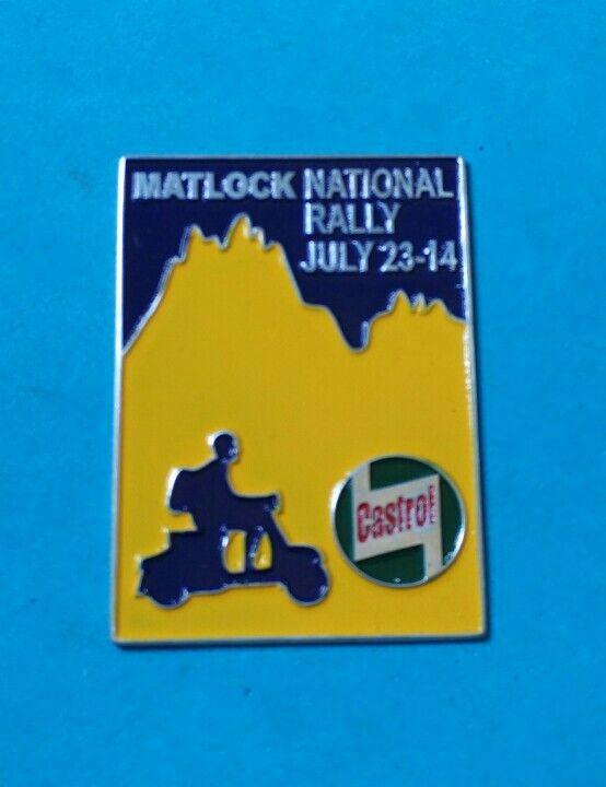 Badge Castrol Matlock National Rally