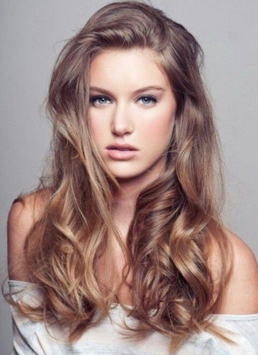 Açık Küllü Kahverengi Saç Modelleri