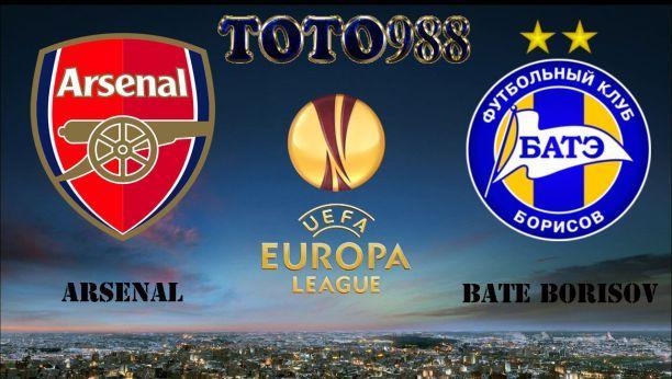 Prediksi Bola Jitu Arsenal VS BATE Borisov 8 Desember 2017
