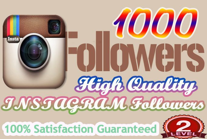 bapparabi: give1000 High Quality Instagram Followers for $5, on fiverr.com