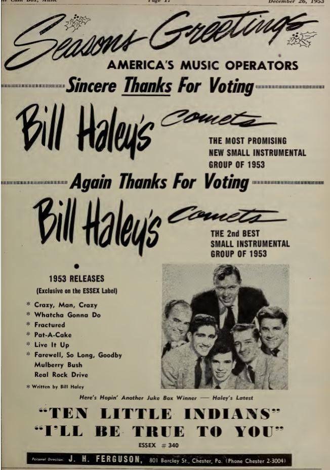 Bill Haley, December 1953