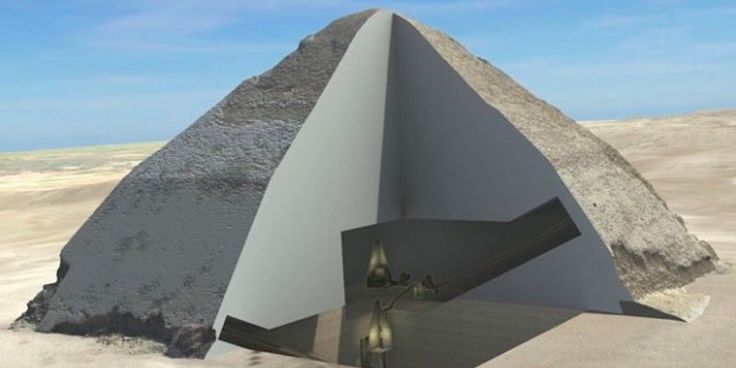 Cosmic rays allow us to slice through the structure of a pyramid, revealing the ancient and fine engineering at its heart.