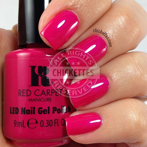 Red Carpet Manicure Cinderella Collection - Well, Aren't We Lovely - swatch by Chickettes.com