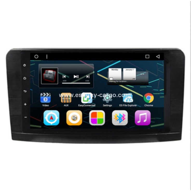 Mercedes Benz ML GL Class ML320 ML350 Car DVD GPS Navigation Radio headunits