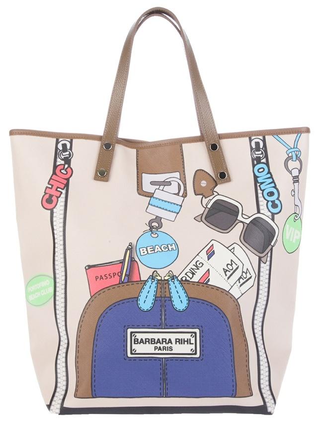 Barbara Rihl Shop Pen and Passport Bag: Shopper Bags, Trompe L'Oeil, Totes Bags, Rihl Shop, Tote Bags, Ladies Handbags, Bolsas Bags