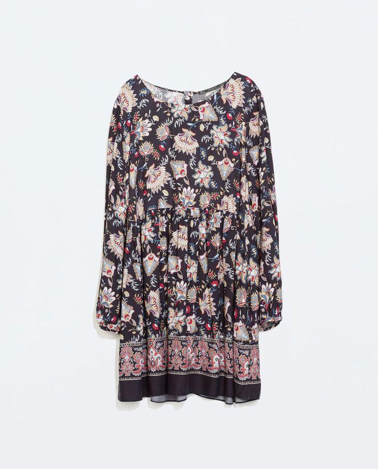 Size: S http://www.zara.com/us/en/woman/dresses/printed-dress-c269185p2327053.html