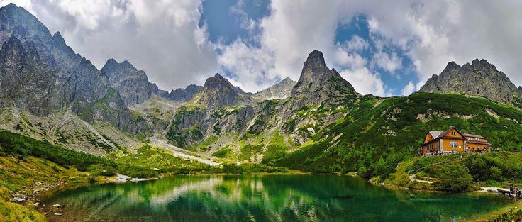 D&V: VEĽKÁ  SVIŠŤOVKA  A  ZELENÉ  PLESO, hill-walking in High Tatras, Slovakia