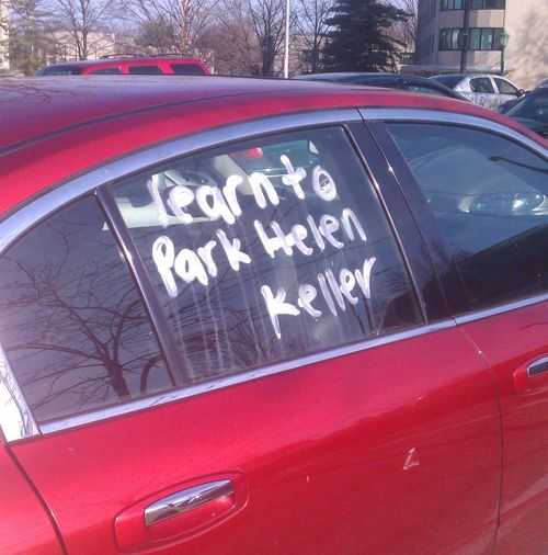 Click for 25 most hilarious windshield notes ever!
