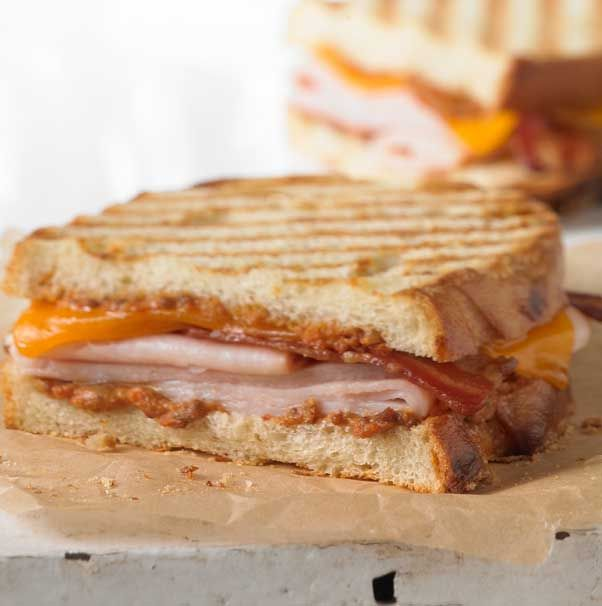 Panera's Smokehouse Turkey® Panini Smoked turkey breast ...