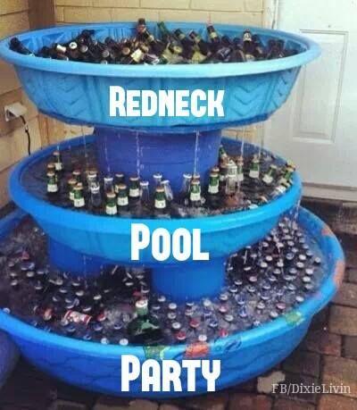 Redneck Pool Party