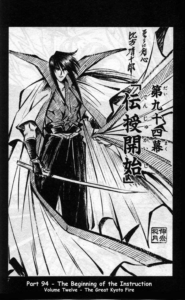 Rurouni Kenshin | Kenshin's Master