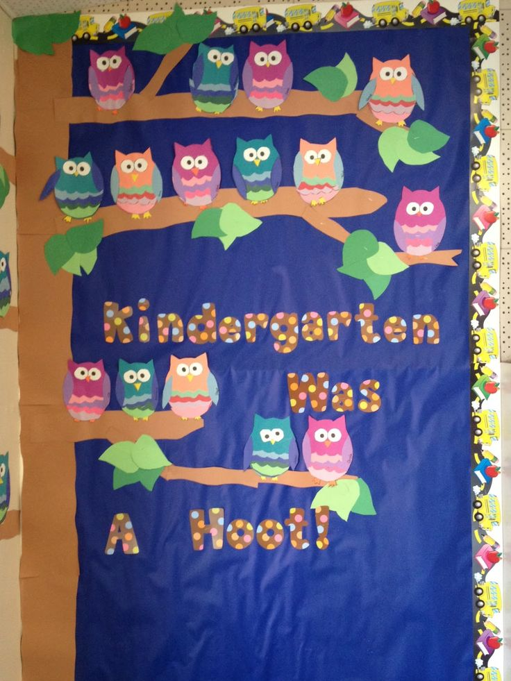 Welcome Back Bulletin Boards   Apples and ABC's: Kindergarten Was a Hoot Bulletin Board