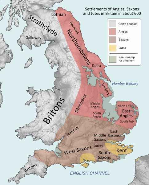 The post-Roman peoples of Britain.