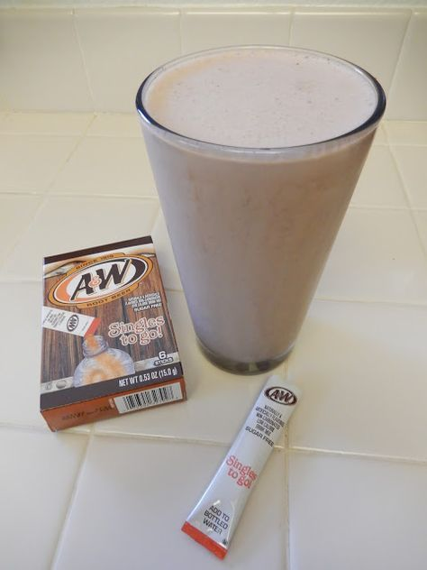 Eggface Protein Shake Recipes: Root Beer Float Protein Shake - Weight Loss Health Fitness Bariatric Surgery
