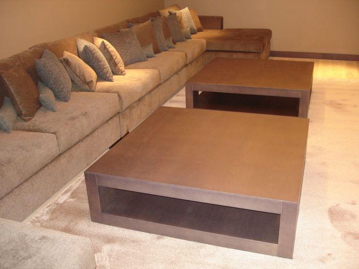 home cinema room. custom made sofa.