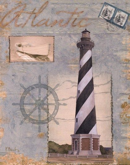 Seacoast Lighthouse I by Paul Brent art print