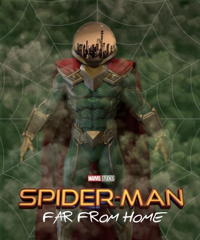 Spider-Man: Far From Home Fan-art | SPIDER-MAN | Spiderman ...