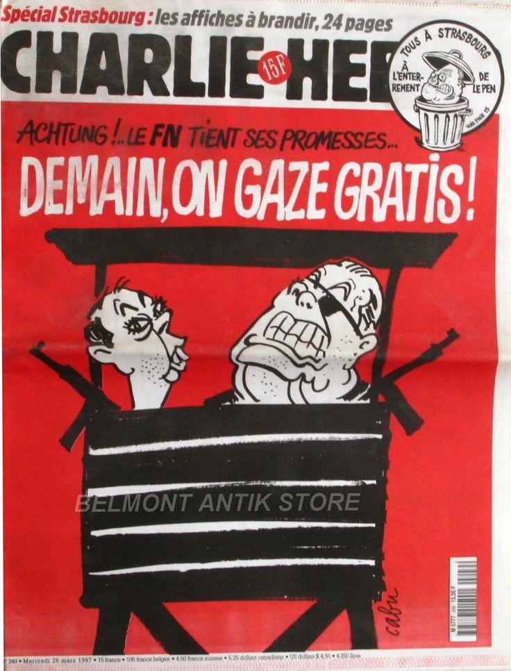 Charlie Hebdo - # 249 - 26 Mars 1997 - Couverture : Cabu