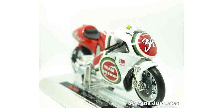 Suzuki RGV-r Kevin Schwantz 1993 escala 1/18 Saico moto miniatura