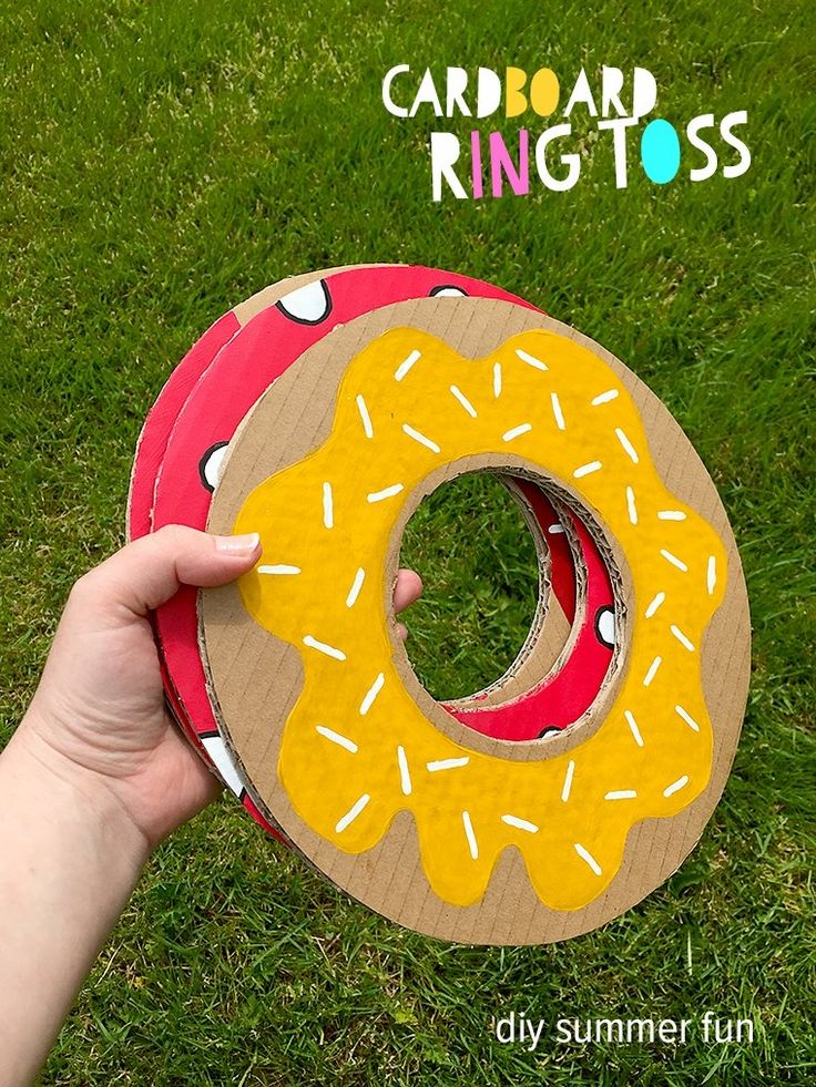 Make Me! – DIY Cardboard Ring Toss Game for Summer Garden Fun - Articles - Fab - Sprinkles of Imagination