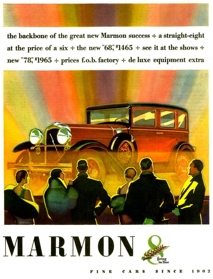31 best Classic Marques - Marmon images on Pinterest | Old school ...