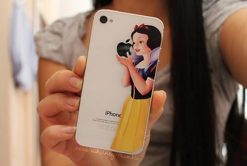 Cute iPhone case sticker