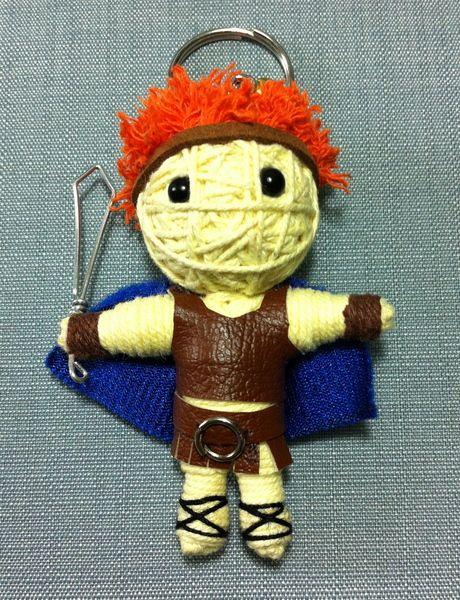 Maximus+Gladiator+Film+Puppe+Schlüsselanhänger+de+Thaicraftvillage+sur+DaWanda.com