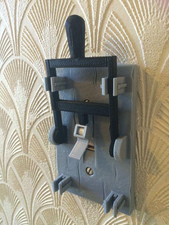 Plaque d'interrupteur d'éclairage 3D imprimés Frankenstein