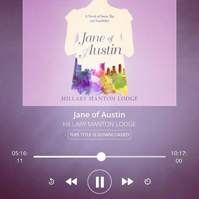 #readysetgo Day 1 - #1st read for this month of #reading #janeausten .  #audio #loving and #listening to @hillarylodge 's #newrelease  #novel of #sweettea and #sensibility in this great #contemporary version of #senseandsensibility .  Definitely #recommended .    Join us for #jausteninaugust #austeninaugustrbr  @faith.hope.cherrytea #janeausten  Find #blogpost info re #austeninaugustrbr via fhc account link above   #janeausten #bookphotography #bookstagram throughout #august