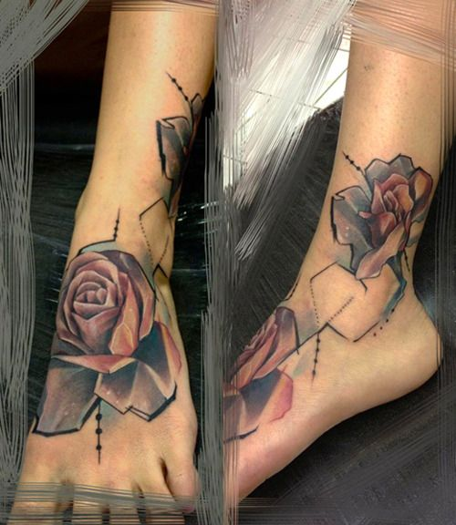 A different look at a rose tattoo    Marie Kraus