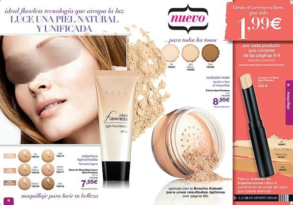 Avon Ideal Flawless, uno de los maquillajes todo terreno de Avon.