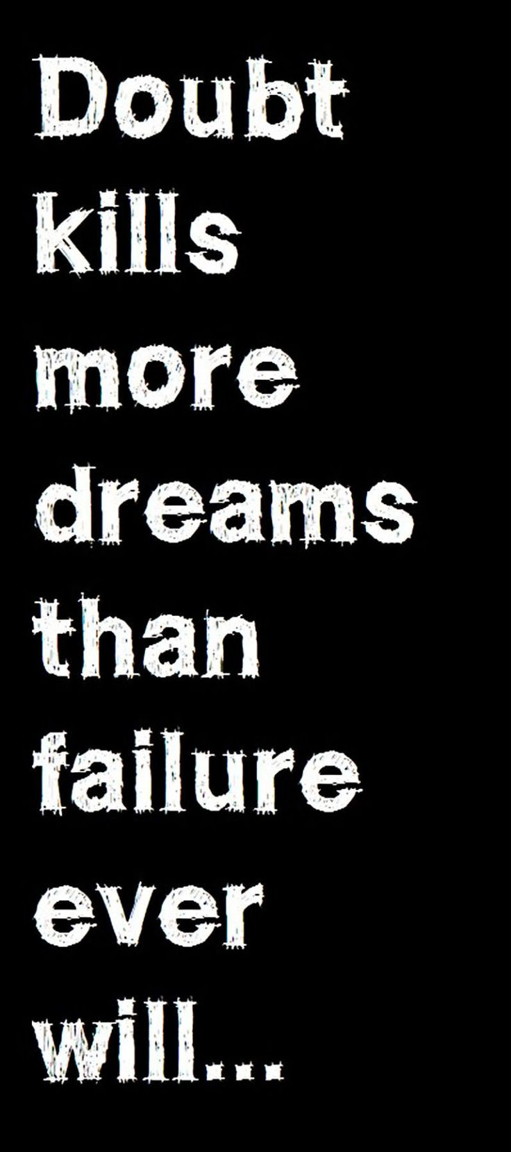Inspirational Quotes About Failure: 25+ Best Fear Of Failure Quotes On Pinterest