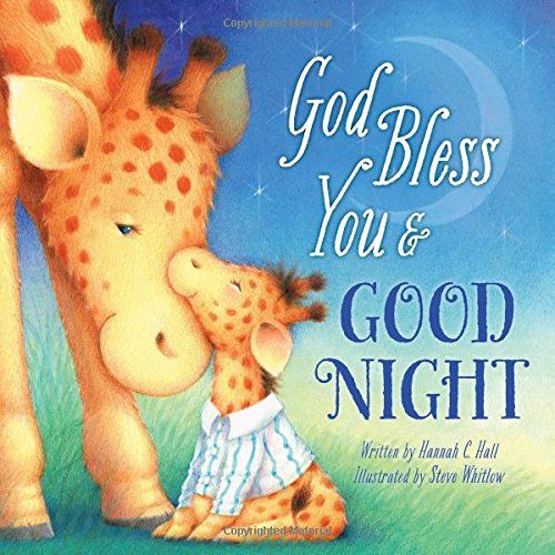 Baby rhyme book that teaches of God's blessings and love for us