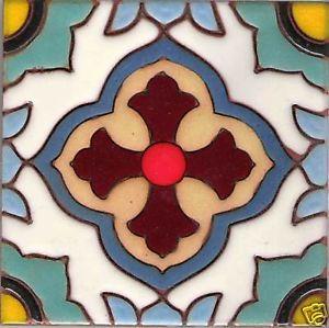 Cada Star A Design Malibu Tile 6 X6 Mexican Tiles