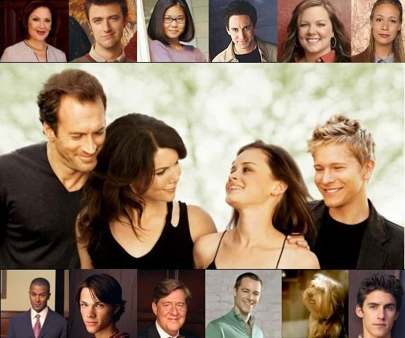 the cast from Gilmore Girls, the best show ever. :)