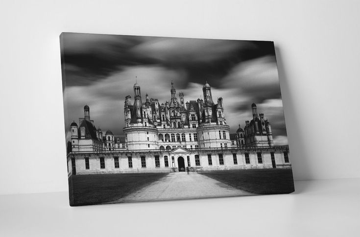 "France Château De Chambord Gallery Wrapped Canvas Print 30""X20"" Or 20""X16"""
