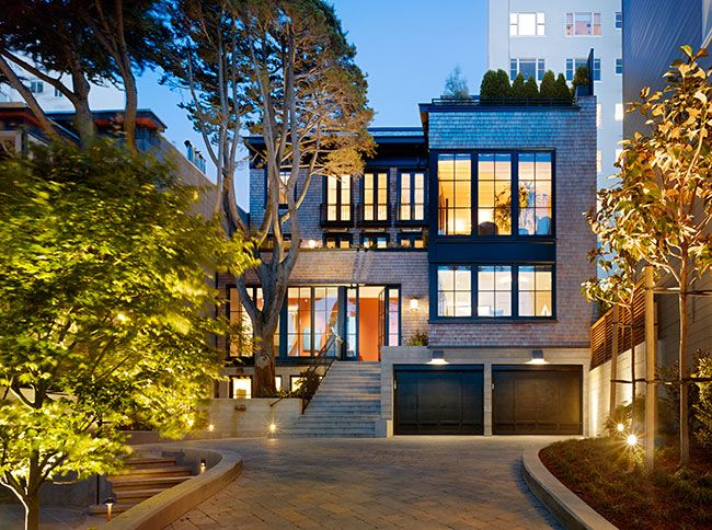19 best modern craftsman images on pinterest exterior homes charlie barnett associates architects residential architecture in the san francisco bay area russian hill residence malvernweather Gallery