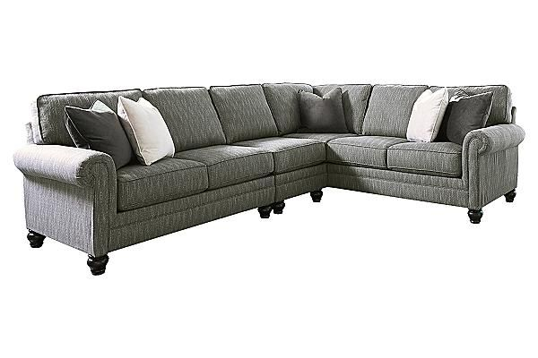 The Kittredge 3 Piece Sectional From Ashley Furniture Homestore Ashley Furniture