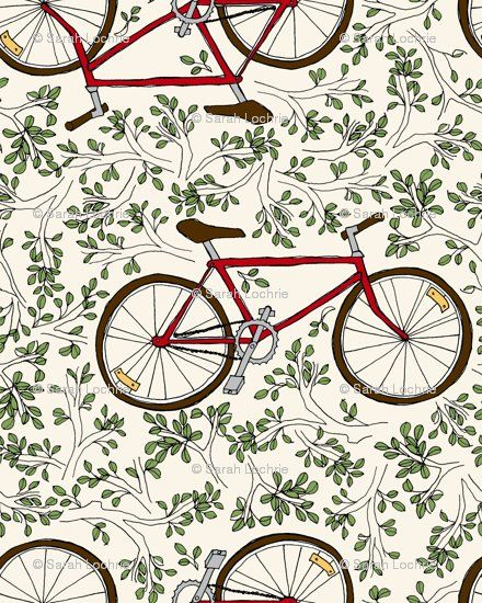Fabric design by Sarah Gager